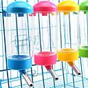 Χαμηλού Κόστους Μπολ σκυλιών & Ταΐστρες-1pc Σκυλιά Γάτες Κατοικίδια Μπολ & Μπουκάλια Νερού 0.4 L Πλαστική ύλη Προσαρμόσιμη Αδιάβροχη Πλένεται Μονόχρωμο Τυχαίο Χρώμα Μπολ & Διατροφή
