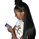 povoljno Perike s ljudskom kosom-Ljudska kosa Lace Front Perika Duboko udaljavanje Stražnji dio stil Malezijska kosa Prirodno ravno Natural Perika 250% Gustoća kose s dječjom kosom Dar Rasprodaja Udobnost Žene Dug Perike s ljudskom