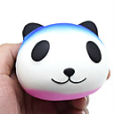 billige avstressere-Stresslindrende leker Panda Dyr Office Desk Leker Dekompresjon Leker poly uretan 1 pcs Alle Leketøy Gave