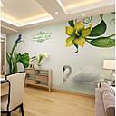 Χαμηλού Κόστους Τοιχογραφία-ταπετσαρία / Τοιχογραφία Καμβάς Κάλυψης τοίχων - κόλλα που απαιτείται Φλοράλ / Γεωμετρικό / Art Deco