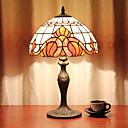 povoljno Stolne svjetiljke-12-inčni stol svjetlo umjetnički / ruža cvijet tiffany ambijentalne svjetiljke dekorativne ljupke stolna svjetiljka za unutarnje spavaća smola 110-120v 220-240v 40w * 1 žarulja nije uključen