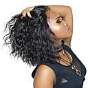 ราคาถูก วิกผมเปีย-วิกผมจริง 4x13 ปิด มีลูกไม้ด้านหน้า วิก บ๊อบตัดผม สั้นบ๊อบ Rihanna สไตล์ ผมบราซิล ความหงิก ธรรมชาติ วิก 130% 150% Hair Density / ผมเด็ก / วิกผมแอฟริกันอเมริกัน / เส้นผมธรรมชาติ / ผมเด็ก