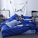 ราคาถูก ปลอกผ้าห่มทันสมัย-ชุดผ้านวมคลุม หรู / ร่วมสมัย Polyster Printed 4 ชิ้นBedding Sets
