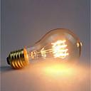 ราคาถูก หลอดไฟ-1pc 60 W E26 / E27 A60(A19) เหลือง 2300 k เรทโทร / หรี่แสงได้ / ตกแต่ง หลอดไฟ Vintage Edison รุ่น Exand 220-240 V