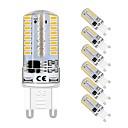 ราคาถูก USB แฟลชไดร์ฟ-6 ชิ้น 3 W หลอดเสียบคู่ LED 320 lm G9 T 72 ลูกปัด LED SMD 3014 น่ารัก ขาวนวล ขาวเย็น 220-240 V 110-130 V
