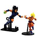ราคาถูก โมเดลการ์ตูนแอคชั่น-ตัวเลขการกระทำอะนิเมะ แรงบันดาลใจจาก Dragon Ball Son Goku พีวีซี 25 cm CM ของเล่นรุ่น ของเล่นตุ๊กตา