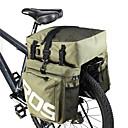 baratos Alforjes para Bicicleta-ROSWHEEL 35 L Mala para Bagageiro de Bicicleta / Alforje para Bicicleta Em 3 1 Ajustável Grande Capacidade Bolsa de Bicicleta PU Leather 600D de poliéster Bolsa de Bicicleta Bolsa de Ciclismo