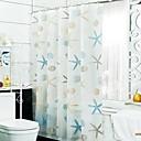 Χαμηλού Κόστους Κουρτίνες Μπάνιου-Κουρτίνες Ντους Μοντέρνα PEVA Αδιάβροχη Μπάνιο