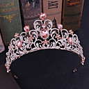 cheap Party Headpieces-Alloy Tiaras / Headpiece with Crystal / Rhinestone / Metal 1 Piece Wedding / Party / Evening Headpiece