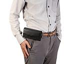 olcso Mobiltelefon tokok-Case Kompatibilitás Blackberry / Apple / Samsung Galaxy Univerzalno Sport karszalag / Kártyatartó Csomag derékra / Erszény Egyszínű Puha PU bőr