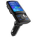 baratos Kits Bluetooth Automotivos/Mãos Livres-lcd bluetooth edr fm transmissor handsfree car kit mp3 player usb carregador