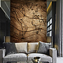 cheap Wall Murals-Wallpaper / Mural Canvas Wall Covering - Adhesive required Floral / Pattern / 3D