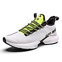 ราคาถูก รองเท้าผ้าใบผู้ชาย-สำหรับผู้หญิง รองเท้ากีฬา ส้นแบน ถัก Sporty / ไม่เป็นทางการ สำหรับวิ่ง ฤดูใบไม้ผลิ & ฤดูใบไม้ร่วง สีดำและสีขาว / สีดำ / สีเขียว / สีกากี