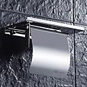 billige Toalettrullholdere-Toalettrullholder Nytt Design / Kul Moderne Rustfrit stål / jern 1pc Vægmonteret