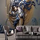 povoljno Zidne tapete-tapeta / Mural / Zidna tkanina Platno Zidnih obloga - Ljepila potrebna Art Deco / 3D / Anđeo