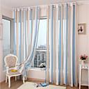 Χαμηλού Κόστους Διάφανες Κουρτίνες-Ευρωπαϊκό Διαφανές Ένα Πάνελ Σαλόνι   Curtains