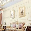 povoljno Zidne tapete-Zidna tkanina Netkani Zidnih obloga - Ljepila potrebna Cvjetni print / Art Deco / 3D