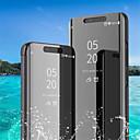povoljno Maske za mobitele-Θήκη Za Huawei Huawei P20 / Huawei P20 Pro / Huawei P20 lite sa stalkom / Pozlata / Zrcalo Korice Jednobojni Tvrdo PU koža / P10 Plus / P10 Lite / P10