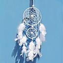 Χαμηλού Κόστους Ονειροπαγίδα-χειροποίητα διακοσμητικά όνειρα με διακοσμητικά διακοσμητικά τοιχοποιίας με φτερά μποέμια ινδία