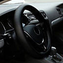 billige Rattovertrekk til bilen-universell anti-glide pustende pu lær diy bil ratt deksel tilfellet med nåler og tråd car-stying