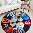 זול שטיחים-1pc יום יומי / מודרני שטיחונים לאמבט אלמוגים יצירתי / גיאומטרי / מצחיק חדר אמבטיה ללא החלקה