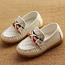 ราคาถูก รองเท้าหนังเด็ก-เด็กผู้ชาย ความสะดวกสบาย PU รองเท้าส้นเตี้ยทำมาจากหนังและรองเท้าสวมแบบไม่มีเชือก เด็กวัยหัดเดิน (9m-4ys) / เด็กน้อย (4-7ys) หัวเข็มขัด สีดำ / สีน้ำตาล / ฟ้า ฤดูใบไม้ผลิ / พรรคและเย็น