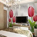 povoljno Zidne tapete-tapeta / Mural Platno Zidnih obloga - Ljepila potrebna Cvjetni print / Geometrijski oblici / Art Deco