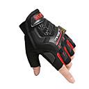 levne Motocyklové rukavice-Poloviční prst Unisex Motocyklové rukavice Vlákno / nylon PVA Prodyšné / Odolný proti opotřebení / Non Slip