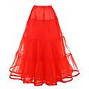 ราคาถูก เสื้อผ้าประวัติศาสตร์และวินเทจ-Petticoat ตูตู ภายใต้กระโปรง 1950s สีชมพู สีบานเย็น คริสตัล Petticoat / กระโปรงผายก้น