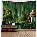 baratos Tapeçarias de parede-Tema Flores Decoração de Parede 100% Poliéster Modern Arte de Parede, Tapetes de parede Decoração