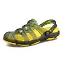 ราคาถูก รองเท้าแตะผู้ชาย-สำหรับผู้ชาย รองเท้าสบาย ๆ พีวีซี ฤดูร้อน ไม่เป็นทางการ รองเท้าแตะ ระบายอากาศ สีดำ / สีเขียว / ฟ้า