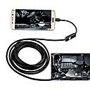 ราคาถูก กล้อง CCTV-7 มิลลิเมตร usb endoscope 10 เมตรสายแข็งกันน้ำ ip67 การตรวจสอบ borescope งูกล้องสำหรับ android pc