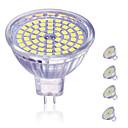 Χαμηλού Κόστους Σποτάκια LED-4pcs 5 W LED Σποτάκια 450 lm MR16 60 LED χάντρες SMD 2835 Διακοσμητικό Lovely Θερμό Λευκό Ψυχρό Λευκό 12 V