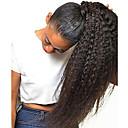 Χαμηλού Κόστους Εξτένσιονς μαλλιών με κλιπ-Κλιπ Μέσα / Πάνω Αλογορουρές Χωρίς Οσμή / Δώρο / Για μαύρες γυναίκες Remy Τρίχα / Φυσικά μαλλιά Κομμάτι μαλλιών Hair Extension Ίσιο Πλήρες Μέγεθος Καθημερινά