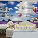 Χαμηλού Κόστους Τοιχογραφία-ταπετσαρία / Τοιχογραφία Καμβάς Κάλυψης τοίχων - κόλλα που απαιτείται Art Deco / Μοτίβο / 3D