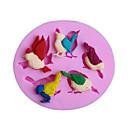 billiga Baktillbehör-fåglar silikon kaka formar födelsedagstårta dekorationsverktyg fondant gumpaste choklad