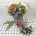 povoljno Umjetno cvijeće-Umjetna Cvijeće 5 Podružnica Klasični Vintage Tradicionalno Hortenzije Cvjeće za stol