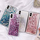 abordables Coques d'iPhone-Coque Pour Apple iPhone XS / iPhone XR / iPhone XS Max Liquide Coque Brillant Dur TPU
