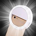 billiga Dekor och nattlampa-1st LED Night Light Vit AAA Batterier Drivs 3 lägen / Bimbar / Bröllop Batteri