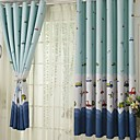 billige Gardiner-Moderne Blackout Et panel Gardin Stue   Curtains