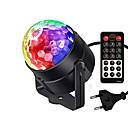povoljno Svjetlima pozornice-1pc 3 W 5 LED zrnca Daljinsko upravljanje LED svjetlima pozornice RGB + Bijela 100-240 V Stage