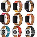 ราคาถูก คีย์บอร์ด-สายนาฬิกา สำหรับ Apple Watch Series 5/4/3/2/1 Apple สายห่วงหนัง หนังแท้ สายห้อยข้อมือ