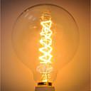 ราคาถูก หลอดไฟแบบไส้-1pc 60 W G125 โปร่งใสร่างกาย หลอดไฟ Vintage Edison รุ่น Exand 220-240 V