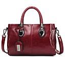 ราคาถูก กระเป๋าเอกสาร-สำหรับผู้หญิง กระดุม / ซิป PU กรเป๋าหิ้ว สีทึบ สีดำ / สีน้ำตาล / สีน้ำเงิน / ฤดูใบไม้ร่วง & ฤดูหนาว