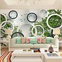 povoljno Zidne tapete-tapeta / Mural Platno Zidnih obloga - Ljepila potrebna Geometrijski oblici / Art Deco / Drveće / lišće