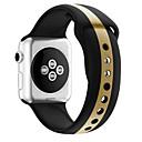 billiga Danskläder till balett-Klockarmband för Apple Watch Series 5/4/3/2/1 Apple Sportband Silikon Handledsrem