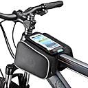 Χαμηλού Κόστους Τζάκετ Ποδηλασίας-ROSWHEEL Κινητό τηλέφωνο τσάντα Τσάντα για σκελετό ποδηλάτου 5.5 inch Οθόνη Αφής Ποδηλασία για Samsung Galaxy S4 iPhone 5/4S iPhone 8/7/6S/6 Μαύρο Ποδηλασία / Ποδήλατο / iPhone X / iPhone XR