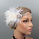 povoljno Party pokrivala za glavu-Perje Trake za kosu / Šešir / Headpiece s Štras / Kristal / Perje 1 kom. Vjenčanje / Zabava / večer Glava