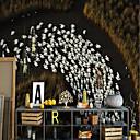 Χαμηλού Κόστους Απλίκες Τοίχου-ταπετσαρία / Τοιχογραφία / Παντόφλες Καμβάς Κάλυψης τοίχων - κόλλα που απαιτείται Art Deco / Μοτίβο / 3D