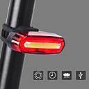 billige Sykkellykter og reflekser-Sykkellykter Baklys til sykkel sikkerhet lys LED Fjellsykling Sykkel Sykling Vanntett Oppladbar 360° rotasjon Flere moduser USB 110 lm Usb Rød Sykling - INBIKE / Fort Frigjøring / ABS / IPX-4